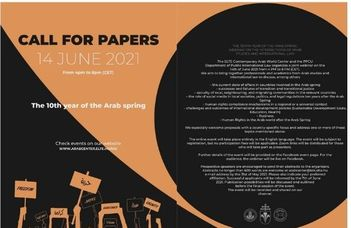 Call For Papers – The 10th Year of the Arab Spring